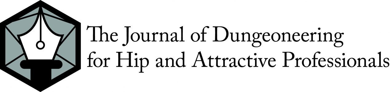 The Journal of Dungeoneering for Hip and Attractive Professionals